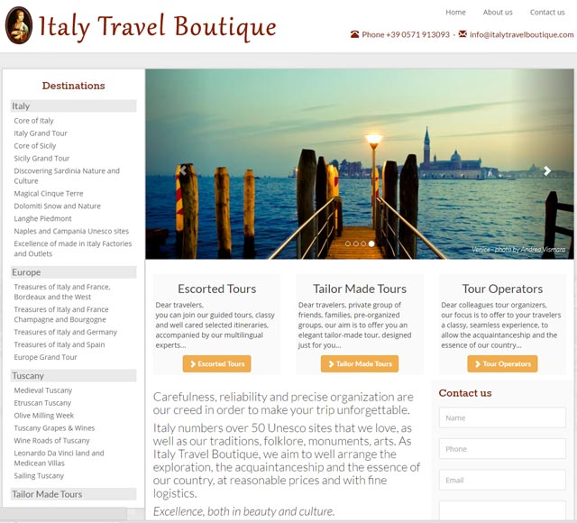 Italy Travel Boutique Viaggi