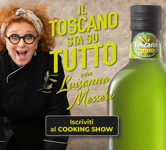 Cooking Show Luisanna Messeri con Olio Toscano Igp
