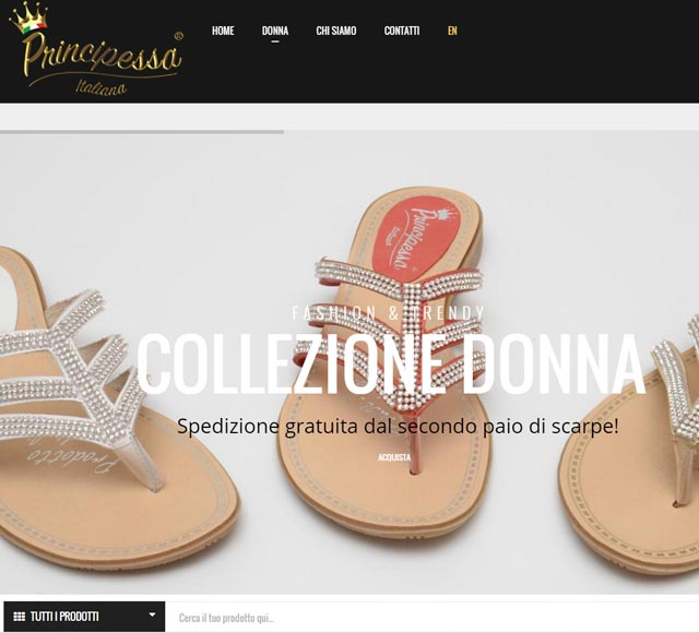 Principessa Italiana calzature Made in Italy
